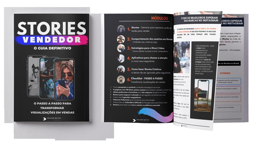 E-book Stories Vendedor